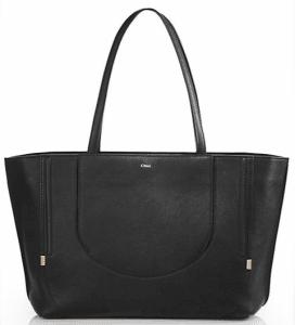 Chloe Black Isa Tote Bag