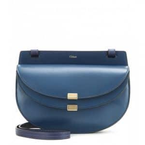 Chloe Blue Georgia Mini Bag