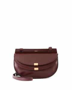Chloe Bordeaux Georgia Mini Bag