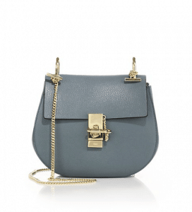 Chloe Cloudy Blue Drew Small Bag