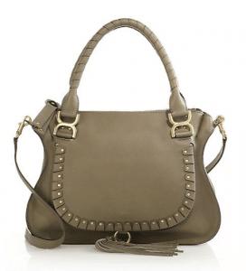 Chloe Merino Studded Marcie Medium Bag