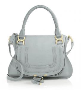 Chloe Rainy Blue Marcie Medium Bag