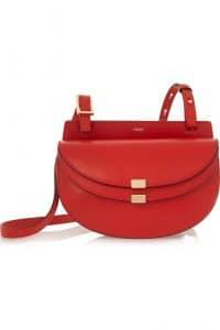 Chloe Red Georgia Mini Bag