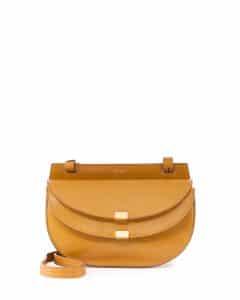 Chloe Yellow Georgia Mini Bag