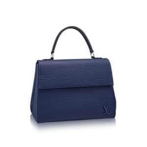 Louis Vuitton Indigo Epi Cluny MM Bag