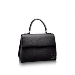 Louis Vuitton Noir Epi Cluny BB Bag