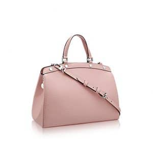 Louis Vuitton Rose Ballerine Epi Brea MM Bag