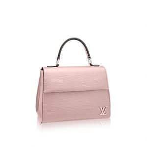 Louis Vuitton Rose Ballerine Epi Cluny BB Bag