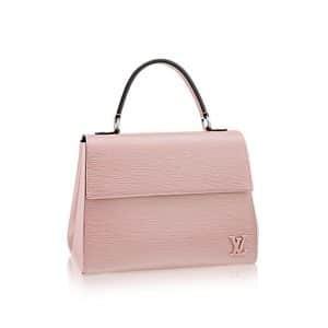 Louis Vuitton Rose Ballerine Epi Cluny MM Bag