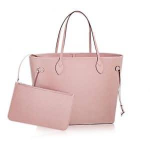Louis Vuitton Rose Ballerine Epi Neverfull MM Bag