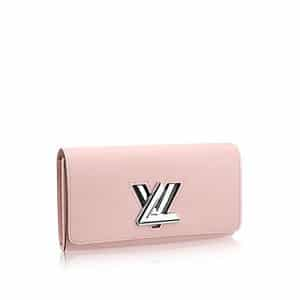 Louis Vuitton Rose Ballerine Epi Twist Wallet