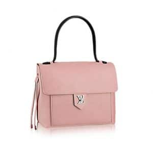 Louis Vuitton Rose Ballerine Lockme PM Bag