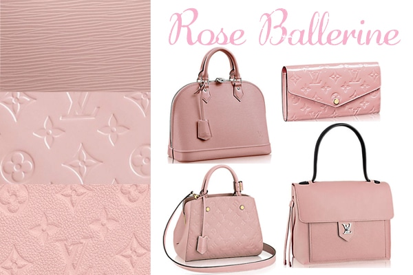 Louis Vuitton Rose Ballerine Color for Spring Summer 2015   Spotted ... d3ffa0dba8