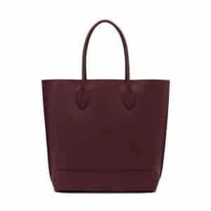 Mulberry Oxblood Blossom Tote Bag