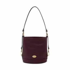 Mulberry Oxblood Washed Calf Jamie Small Bag