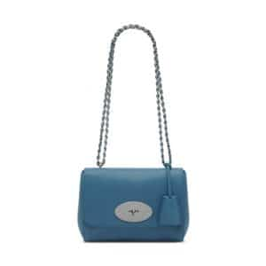 Mulberry Steel Blue Lily Bag