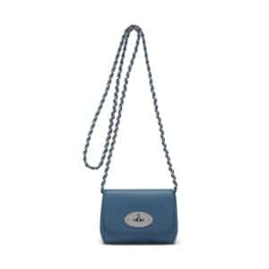 Mulberry Steel Blue Lily Mini Bag