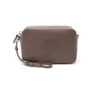 Mulberry Taupe Blossom Pochette with Strap Bag