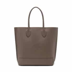 Mulberry Taupe Blossom Tote Bag