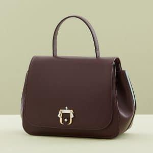 Paula Cademartori Burgundy Abela Bag