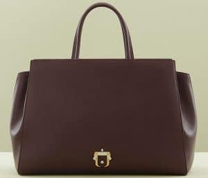 Paula Cademartori Burgundy Bea Bag