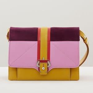 Paula Cademartori Ocher/Velvet Rose/Plum/Red Caroline Bag