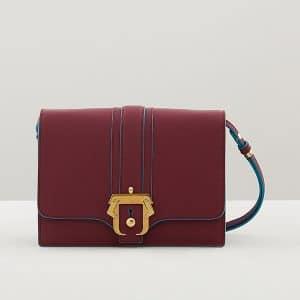 Paula Cademartori Plum Tatiana Shoulder Bag