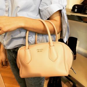 Prada Light Pink Calfskin Inside Bag