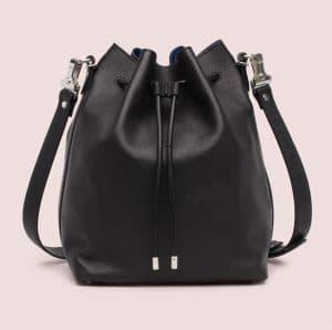 Proenza Schouler Black/Ultramarine Large Bucket Bag