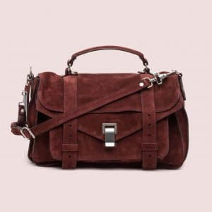 Proenza Schouler Brandy Suede PS1 Medium Bag