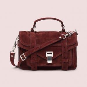 Proenza Schouler Brandy Suede PS1 Tiny Bag
