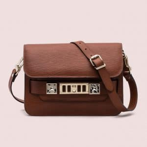 Proenza Schouler Nice Tan PS11 Classic Mini Bag