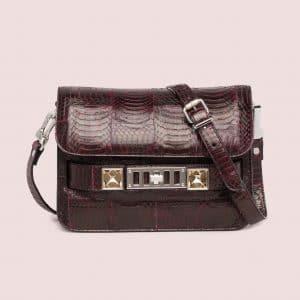 Proenza Schouler Oxblood Ayers PS11 Classic Mini Bag