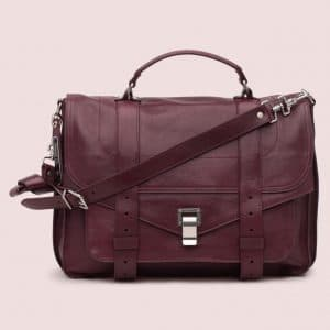 Proenza Schouler Oxblood PS1 Large Bag