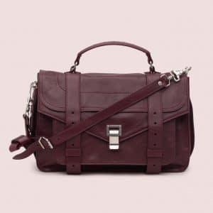 Proenza Schouler Oxblood PS1 Medium Bag