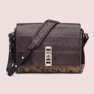 Proenza Schouler Oxblood/Talc/Pepe Elliot Cross Body Bag
