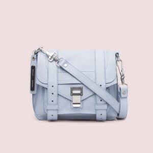 Proenza Schouler Polar Blue PS1 Pouch Bag