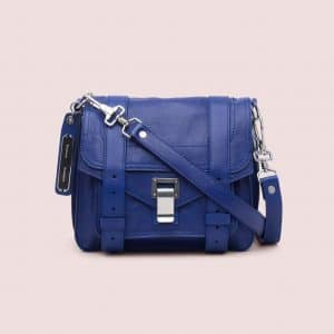Proenza Schouler Proenza Blue PS1 Pouch Bag