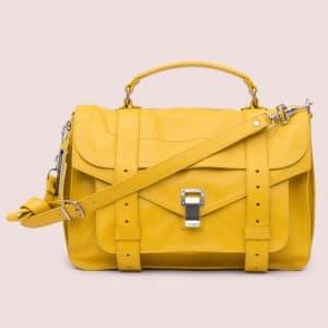 Proenza Schouler Winter Yellow PS1 Medium Bag