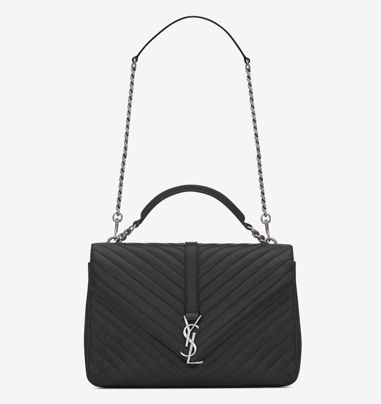 Saint Laurent Matelasse College Tote Bag Reference Guide  f96a7b7602d5d