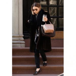 Ashley Olsen Double Bag Trend