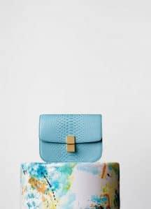Celine Antarctic Python Classic Box Medium Bag