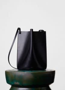 Celine Black Medium Pinched Bag