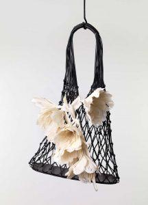 Celine Black Net Bag