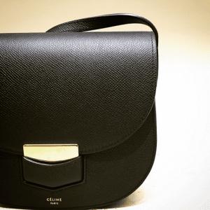 Celine Black Trotteur Bag