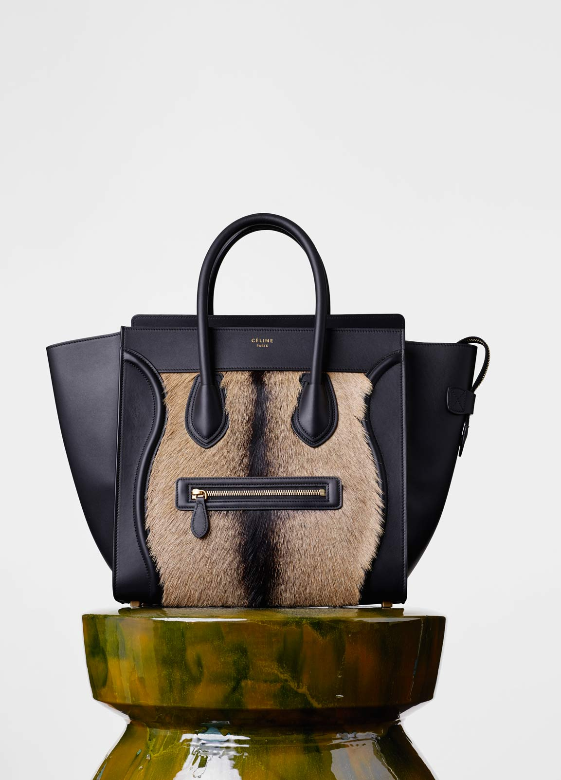 celine luggage mini - Celine Winter 2015 Bag Collection Featuring Subtropical Shades and ...