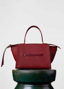 Celine Dark Ruby Small Ring Bag