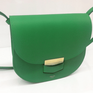 Celine Green Trotteur Bag