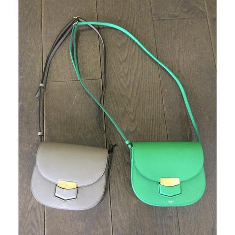 celine leather bag - Celine Trotteur With Buckle Bag Reference Guide | Spotted Fashion
