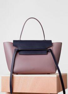 Celine Light Smoke/Violet Mini Belt Bag